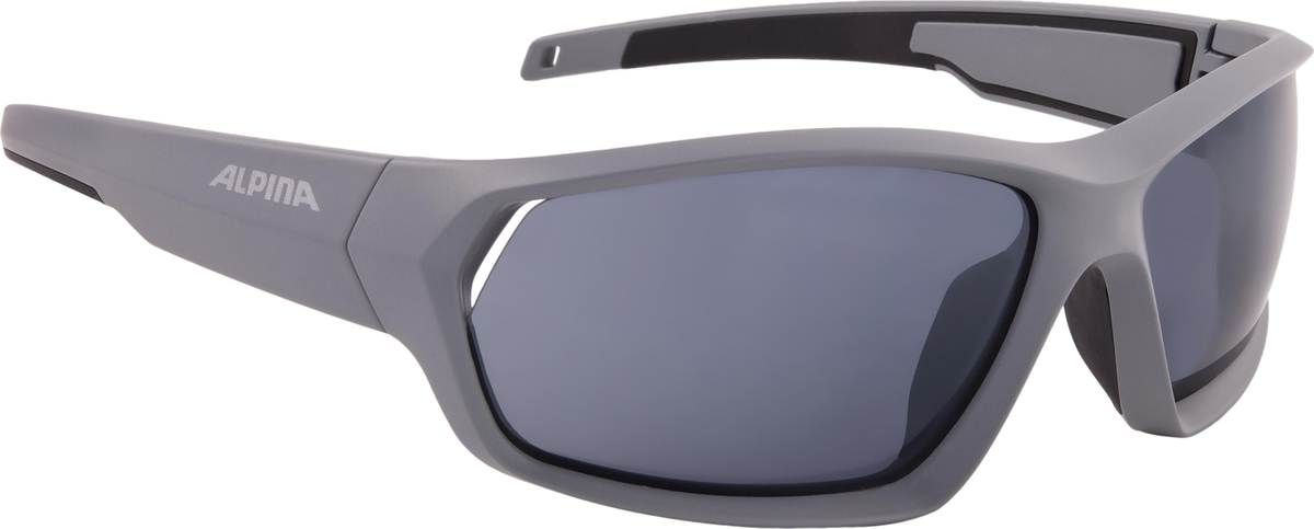 Велосипедные очки Alpina Pheso P, цвет оправы: серый велосипедные очки alpina a 107 p цвет оправы черный