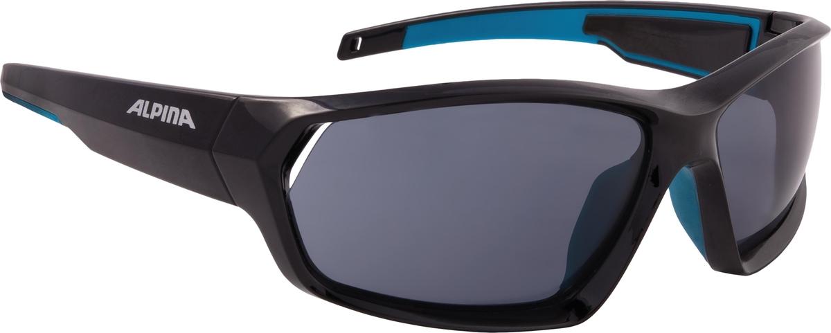 Велосипедные очки Alpina Pheso P, цвет оправы: черный, синий велосипедные очки alpina a 107 p цвет оправы черный