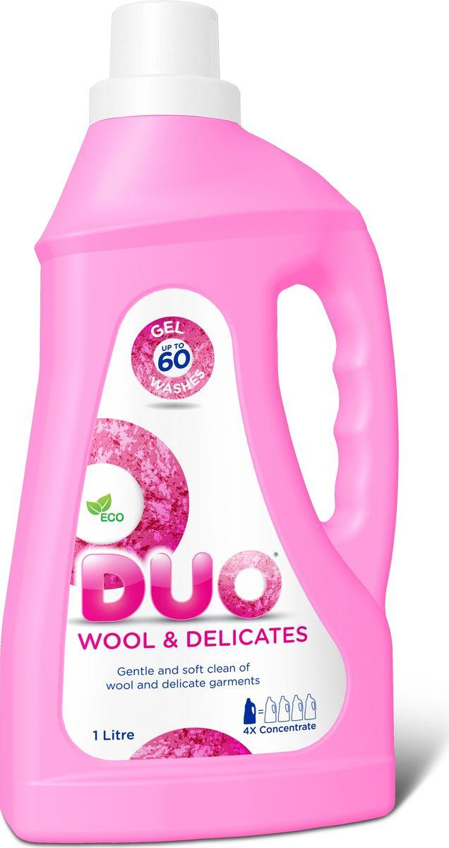 """Гель для стирки DUO """"Wool & Delicates"""", концетрированный, 1 л"""
