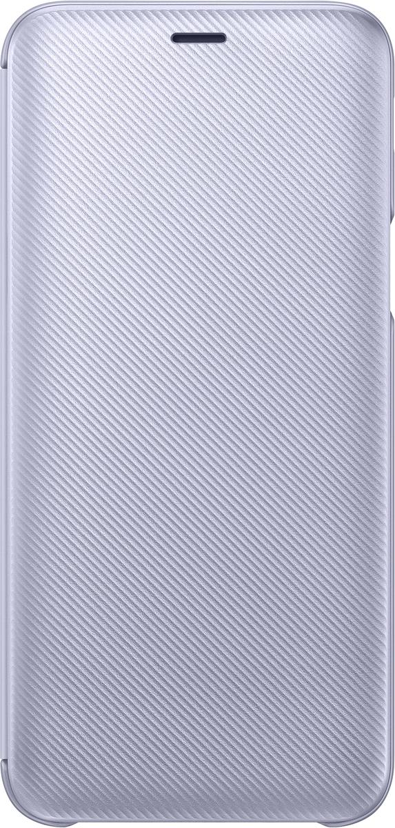 Samsung Wallet Cover чехол для Galaxy J6 (2018), Purple samsung wallet cover чехол для galaxy j6 2018 violet