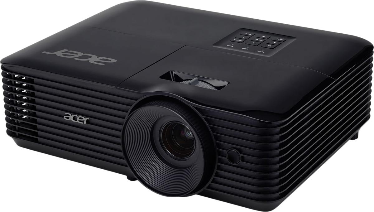лучшая цена Мультимедийный проектор Acer X118 DLP, Black