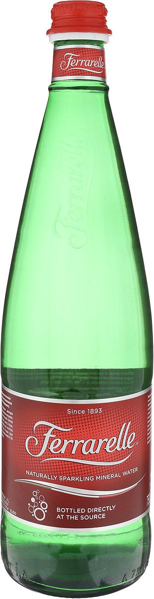 Ferrarelle вода минеральная, 0,75 л стекло