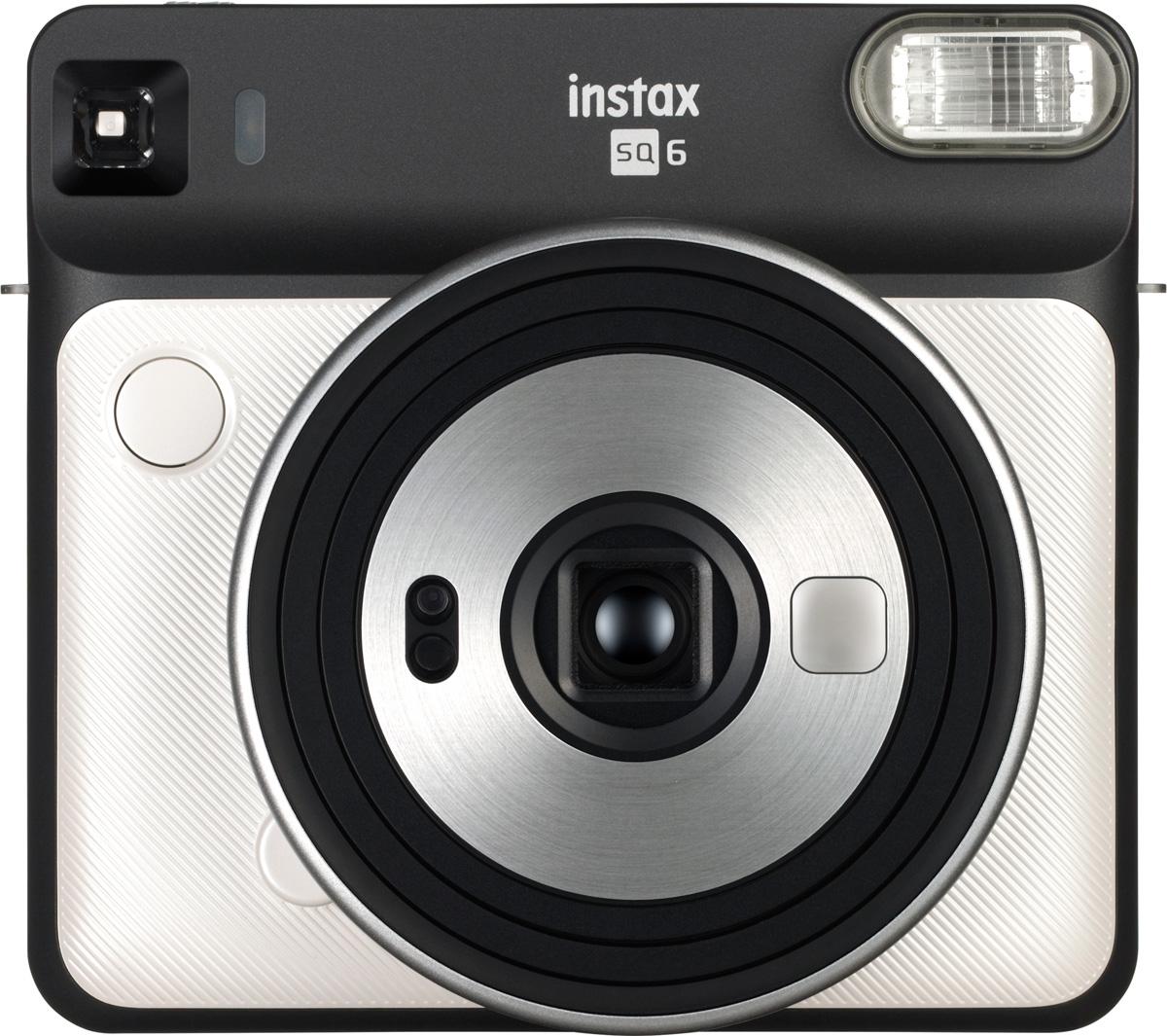 Fujifilm Instax SQ6, Pearl White фотокамера мгновенной печати