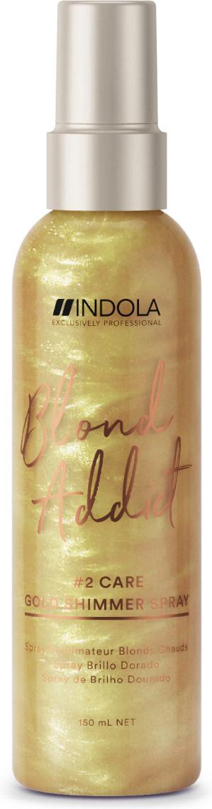 Indola Спрей Blond Addict для придания золотого блеска, 150 мл