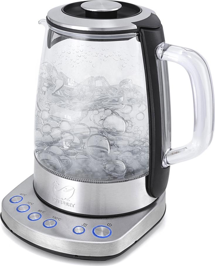 все цены на Электрический чайник Kitfort КТ-626 онлайн