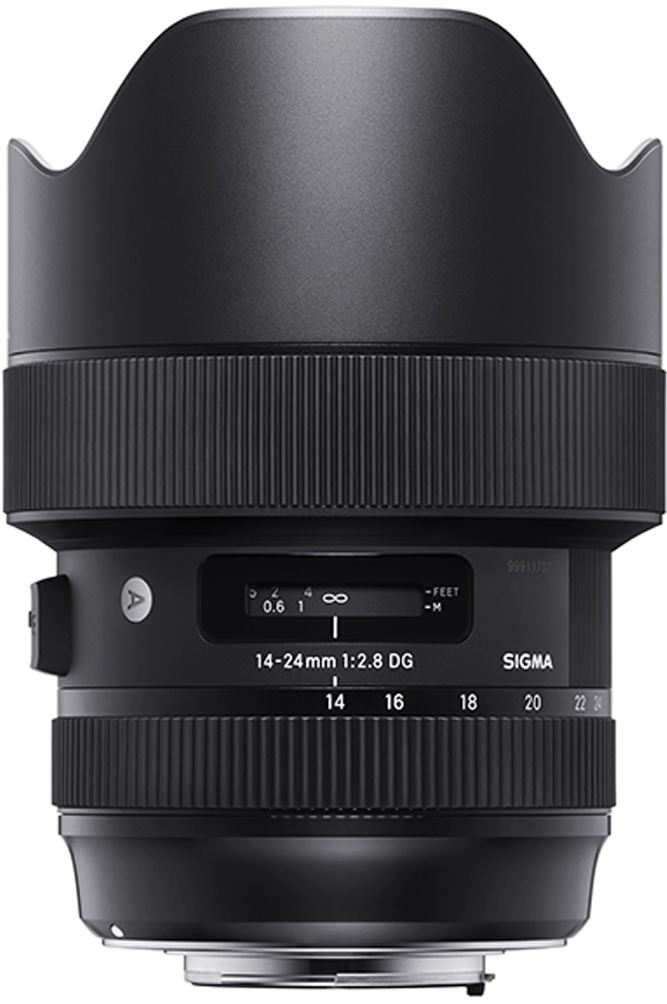 Объектив Sigma AF 14-24 mm F/2.8 DG HSM/A, Black для Canon объектив sigma af 50 100mm f 1 8 dc hsm a для canon