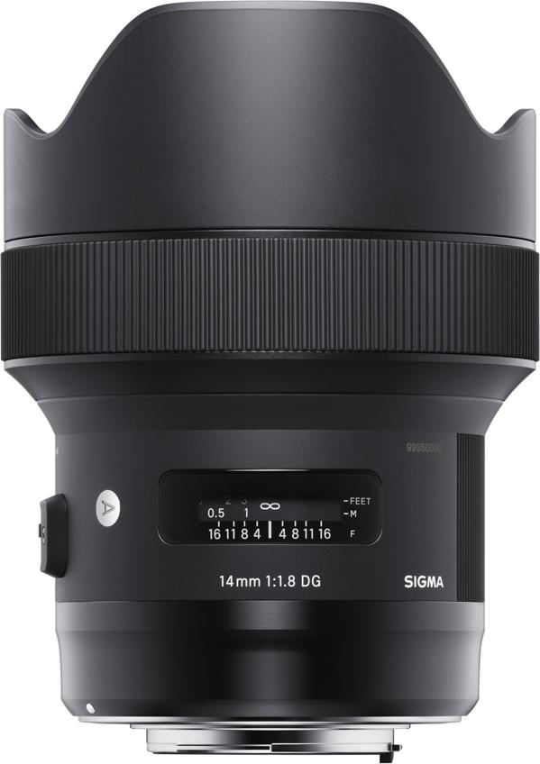 Объектив Sigma AF 14 mm F/1. 8 DG HSM/A, Black для Canon