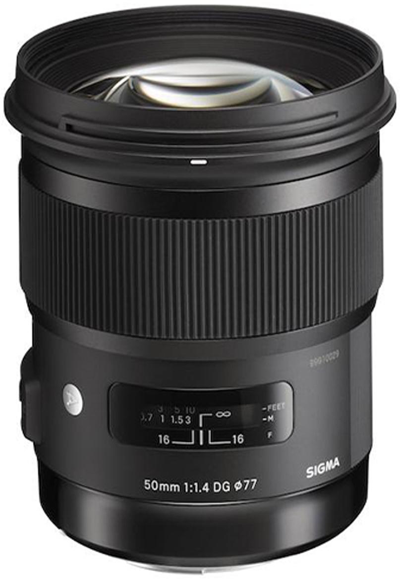 Объектив Sigma AF 50 mm F/1.4 DG HSM/A, Black