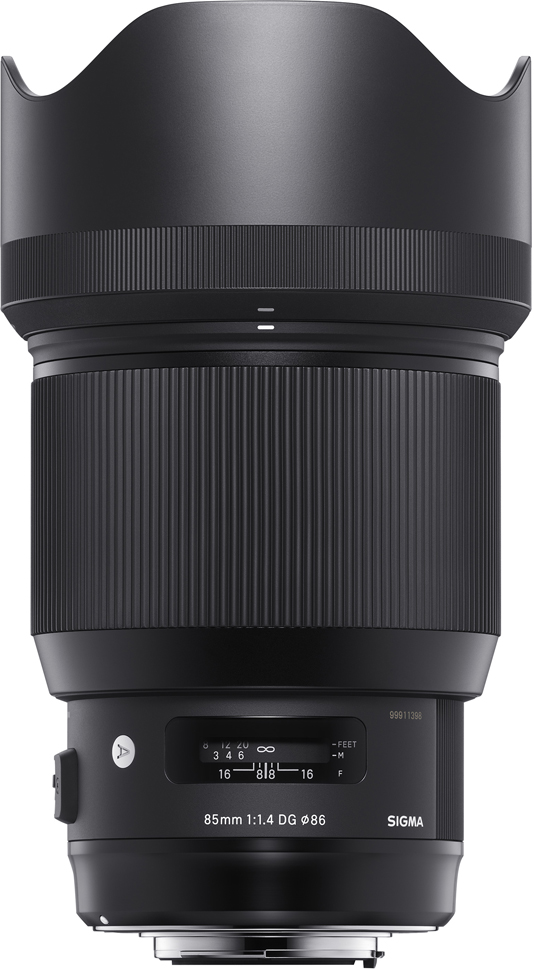 Объектив Sigma AF 85 mm F/1.4 DG HSM/A, Black все цены