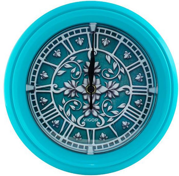 Vigor Д-24 Лепнина, Turquoise часы настенные adidas vigor 90