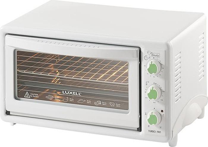 Мини-печь Luxell LX-3675, White