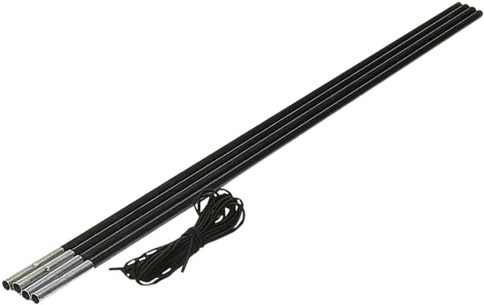 """Комплект дуг High Peak """"FG Reparatur"""", цвет: черный, 11 мм, 200 см. 41713"""