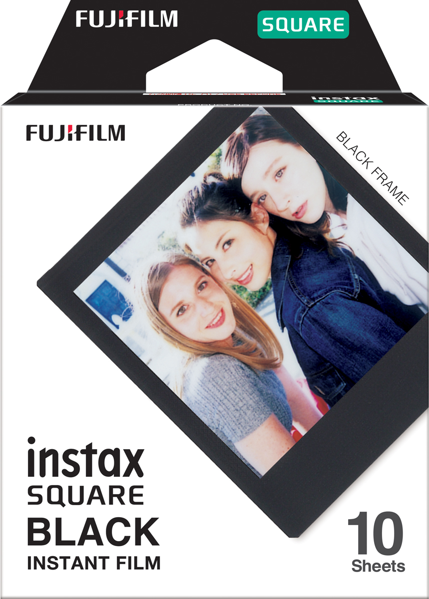 Fujifilm Instax Square Black Frame WW 1фотопленка Fujifilm