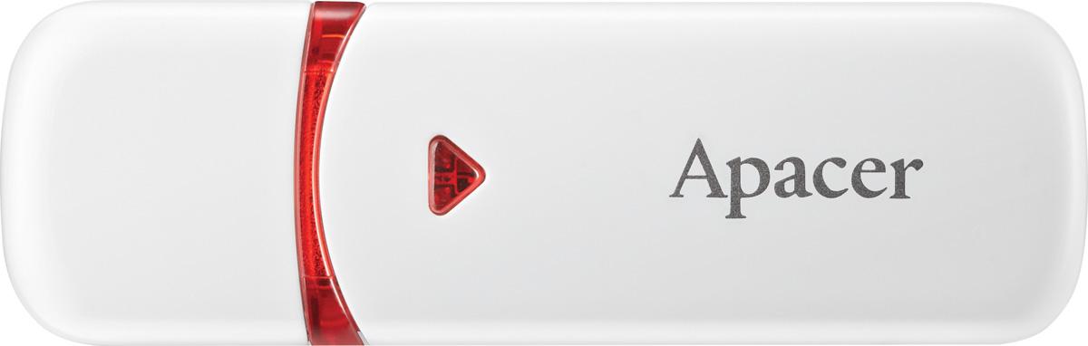 лучшая цена Apacer AH333 8GB, White USB флеш-накопитель