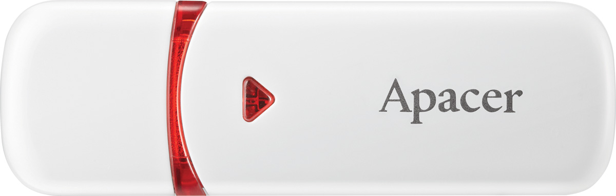 Apacer AH333 16GB, White USB флеш-накопитель apacer ah 322 16gb black ap16gah322b 1
