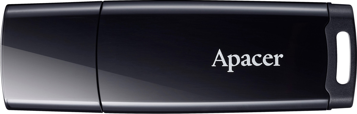 Apacer AH336 8GB, Black USB флеш-накопитель apacer ah 322 16gb black ap16gah322b 1