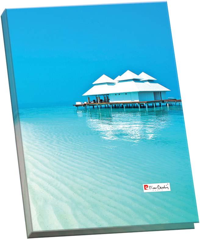 Pierre Cardin Папка-скоросшиватель Riviera формат А4 цвет голубой pierre cardin папка каталог riviera paradis 20 листов