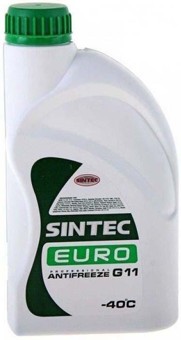 цена на Антифриз Sintec EURO G11, цвет: зеленый, 1 кг