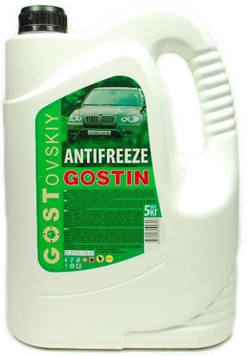 Антифриз ГОСТовский, цвет: зеленый, 5 кг антифриз готовый 1л зеленый