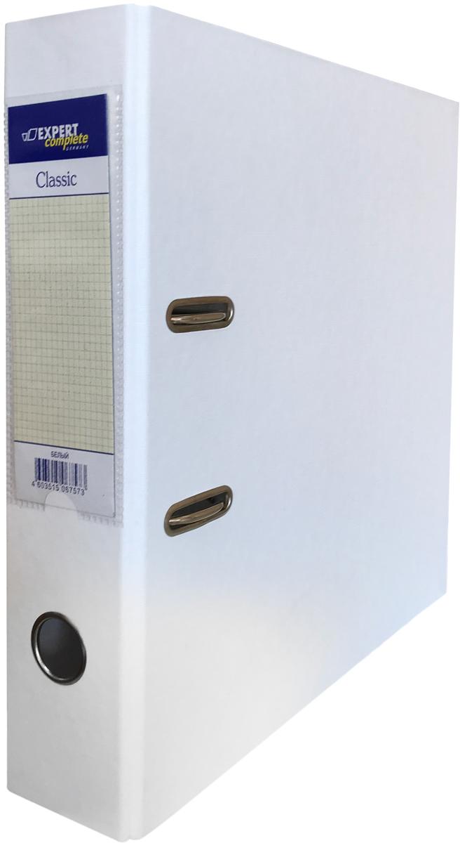 Expert Complete Папка-регистратор PVC 75 мм Classic цвет белый дыроколы expert complete дырокол на 20 листов expert compleate classic черный