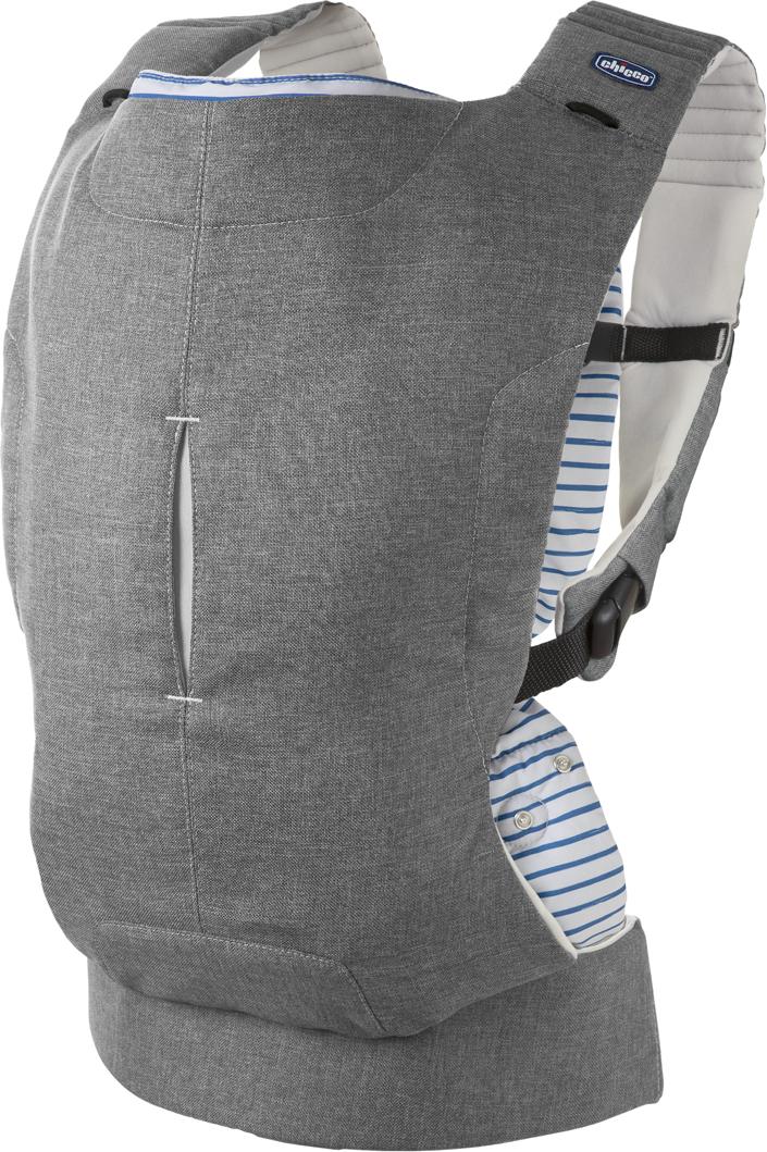 Chicco Рюкзак-переноска Myamaki Complete Grey Stripes chicco рюкзак переноска myamaki complete denim cyclamen