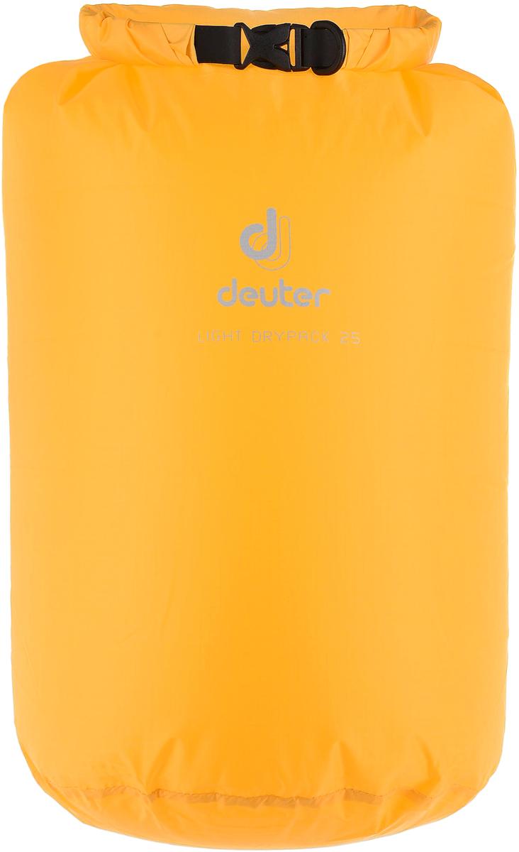 Гермомешок Deuter Light Drypack, цвет: желтый, 25 л