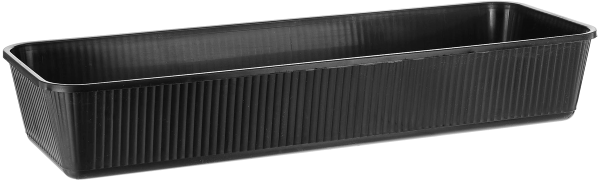 Ящик для рассады Альтернатива, цвет: черный, 53 х 18,5 х 9 см ящик для рассады archimedes урожай 2