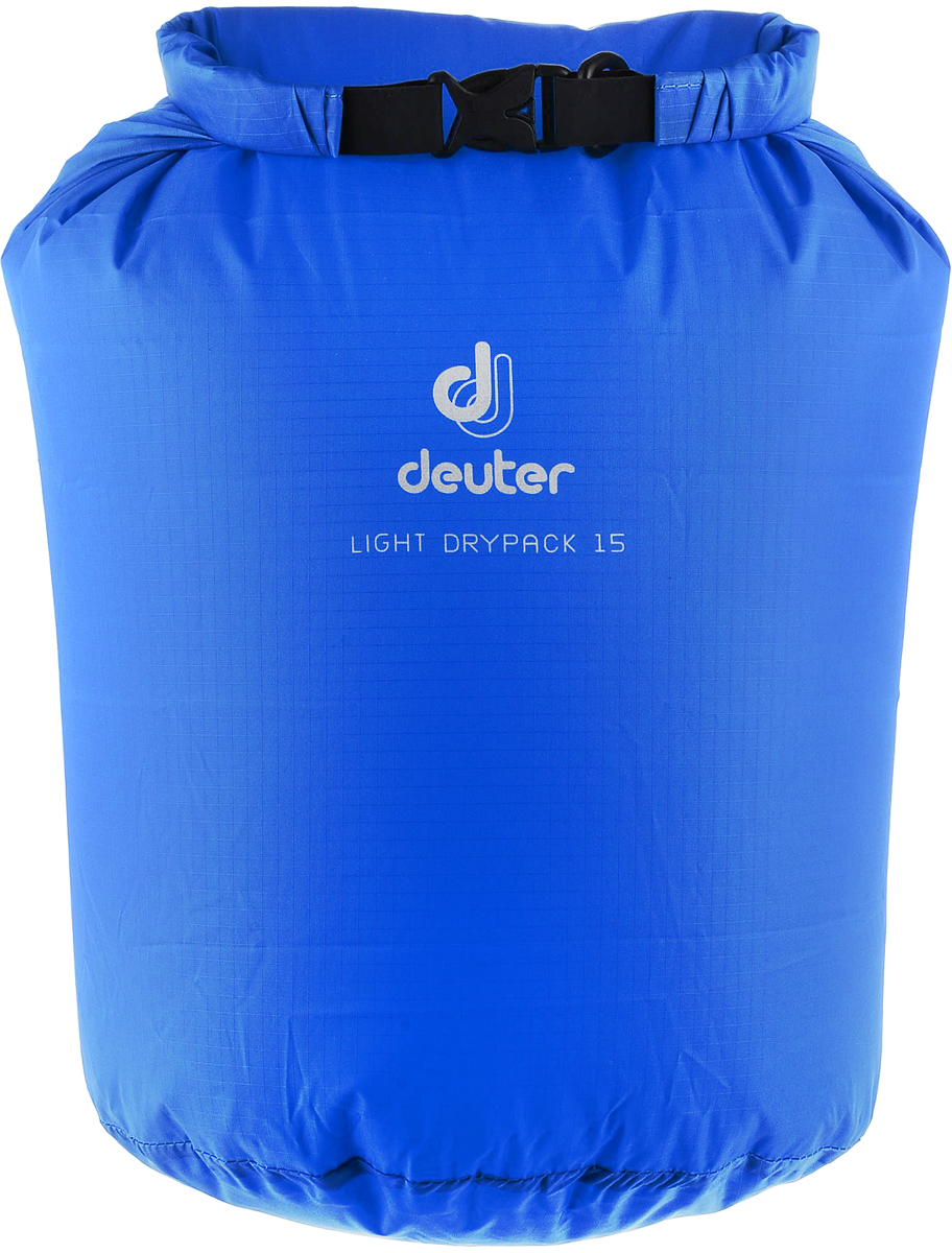 Гермомешок Deuter Light Drypack, цвет: лазурный, 15 л