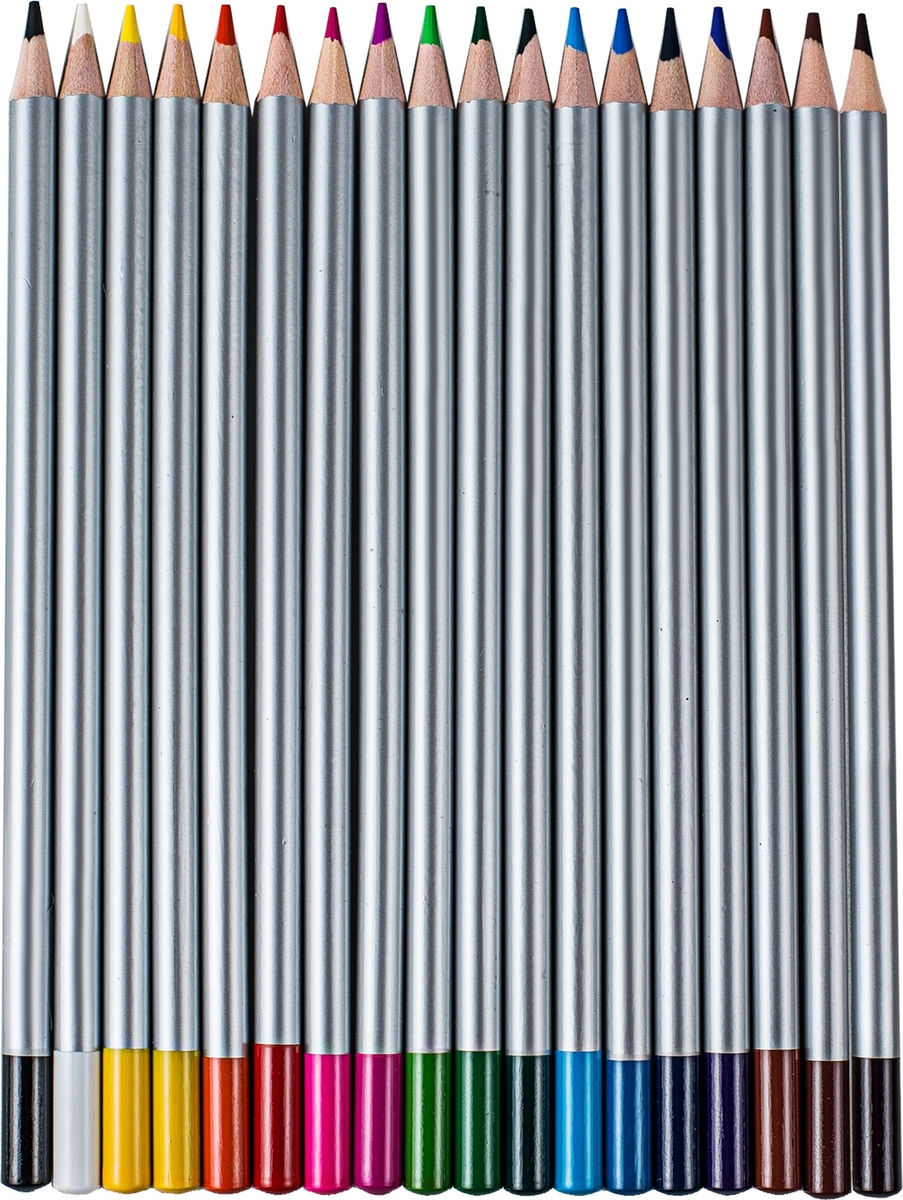 Silwerhof Набор цветных карандашей 3B 18 шт 134211-18
