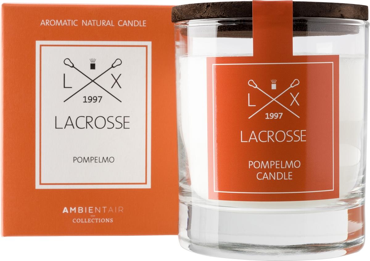 Свеча ароматическая Ambientair Грейпфрут, 8 х 8 х 10 см цена