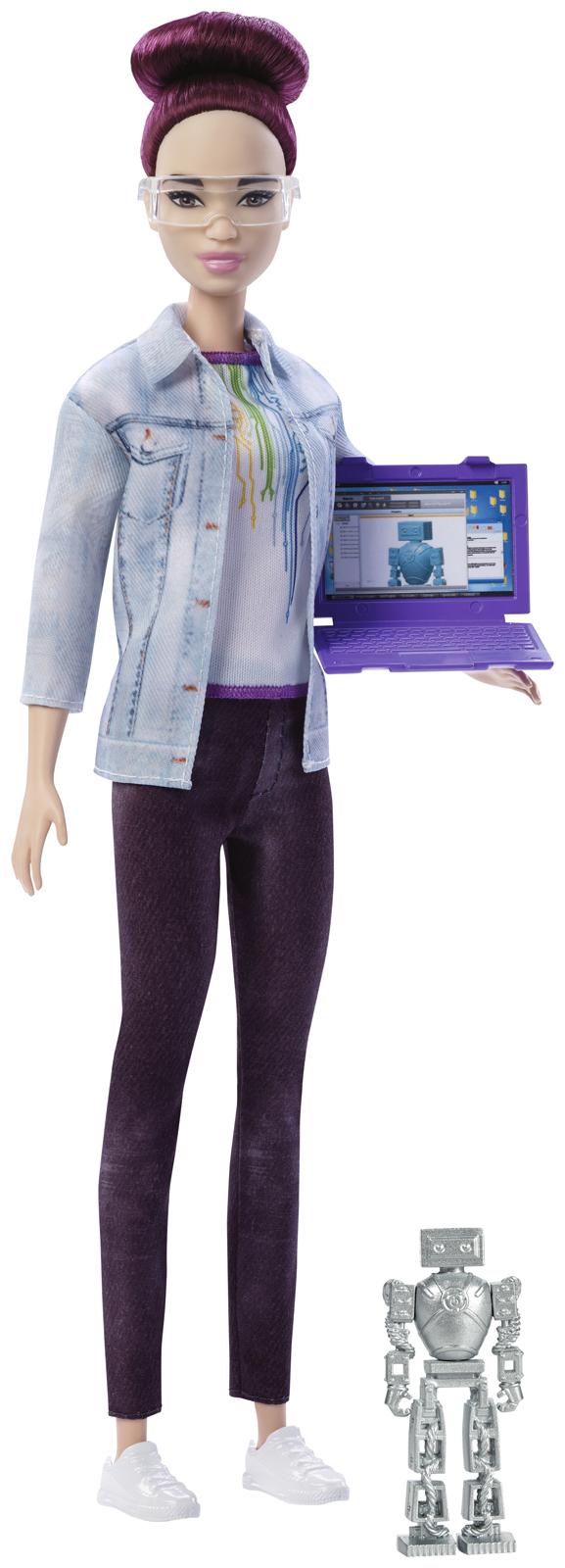 Barbie Игровой набор с куклой Робототехник FRM08_FRM12