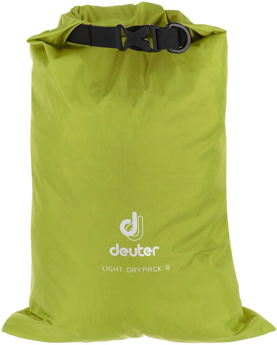 Гермомешок Deuter Light Drypack, цвет: салатовый