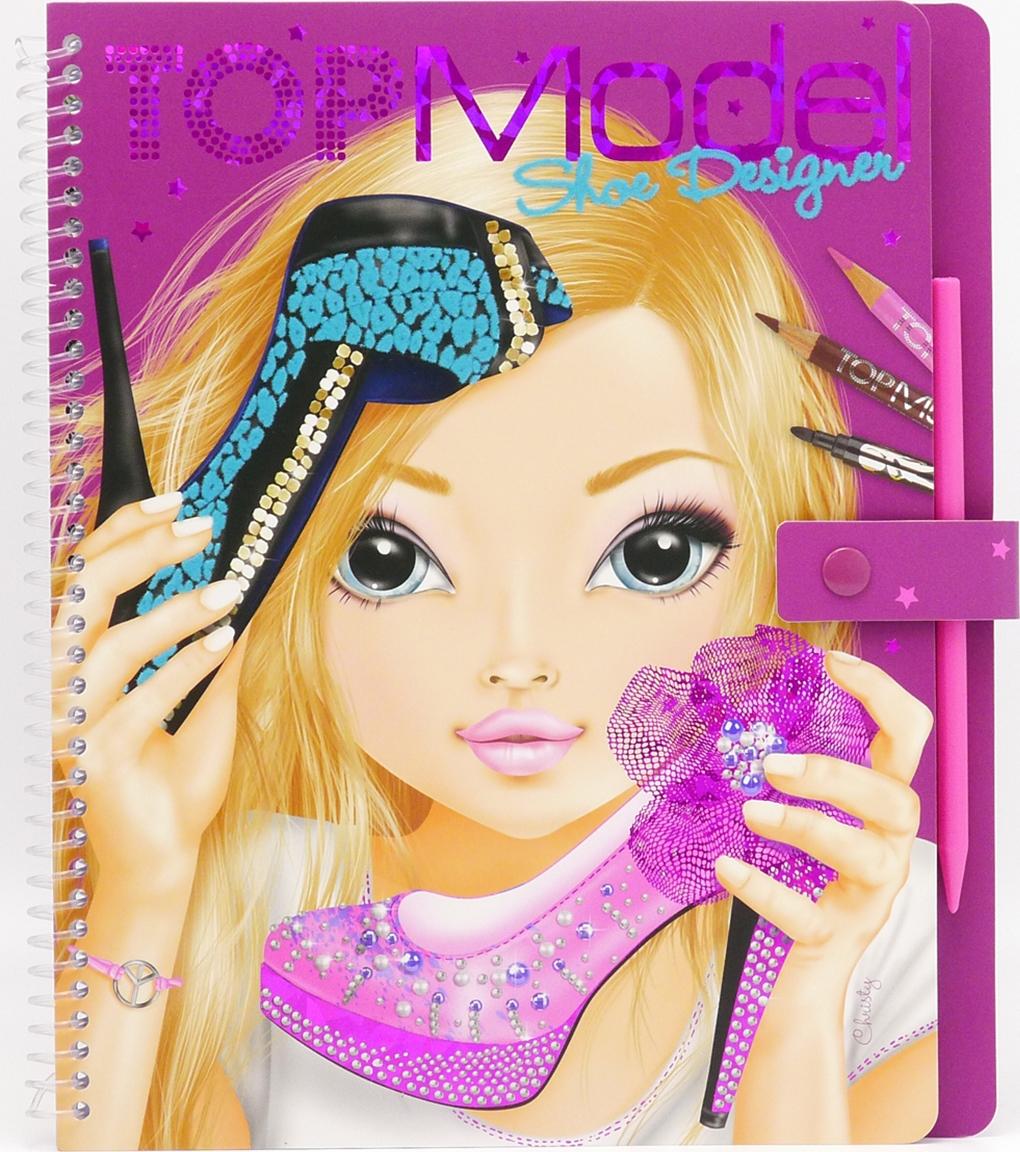 Depesche Раскраска TOPModel Shoe Designer набор наклеек depesche topmodel fantasy 046462 006462