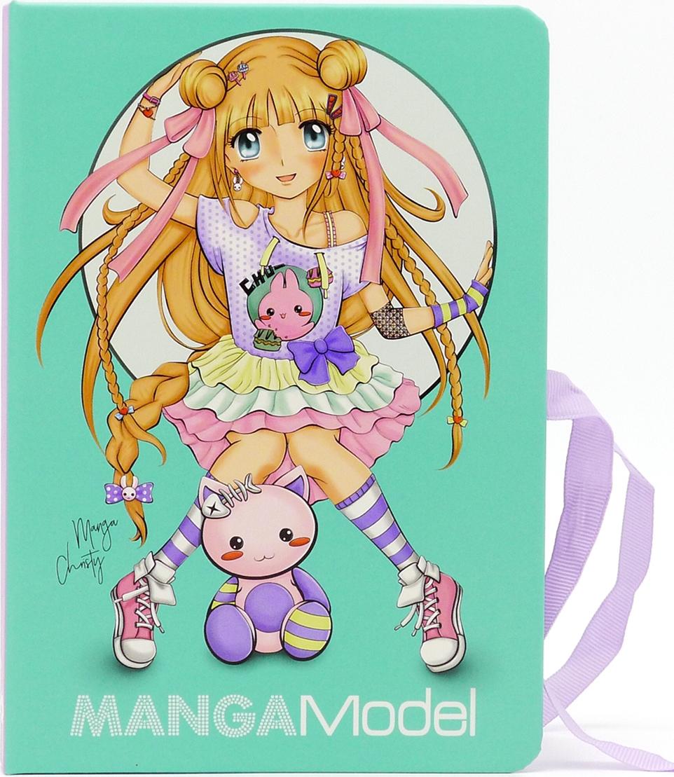 купить Depesche Папка TOPModel Manga с зажимом и набором для записей по цене 899 рублей