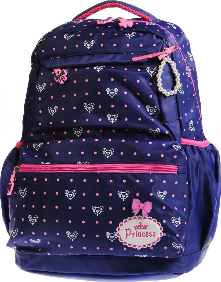 Vittorio Richi Рюкзак детский с наполнением цвет синий розовый K05R5503