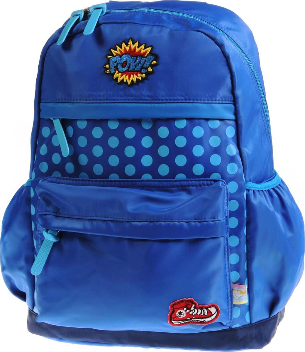 Vittorio Richi Рюкзак детский с наполнением цвет голубой K05R5505