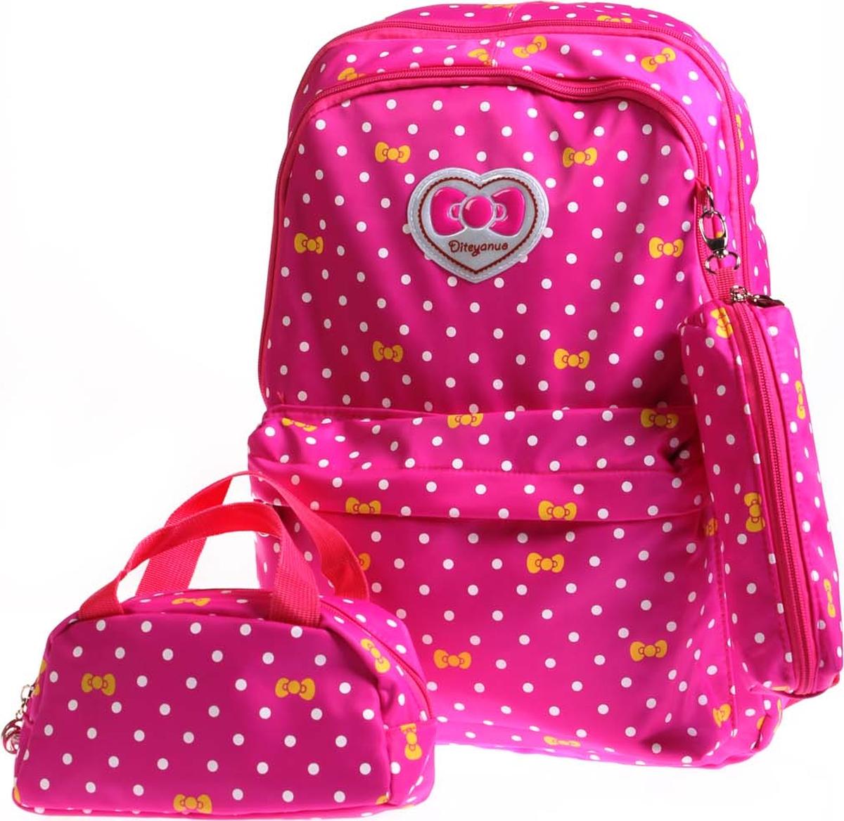 Vittorio Richi Рюкзак детский с наполнением цвет розовый K05R5513