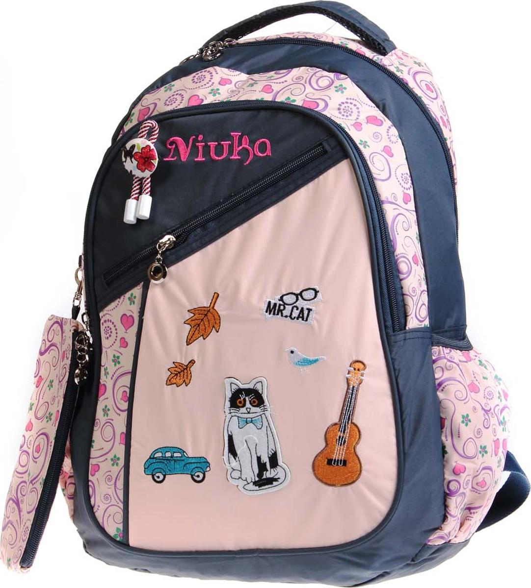 Фото - Vittorio Richi Рюкзак детский с наполнением цвет темно-серый бежевый K05NK172 vittorio richi рюкзак детский с наполнением цвет черный бежевый k05rn171