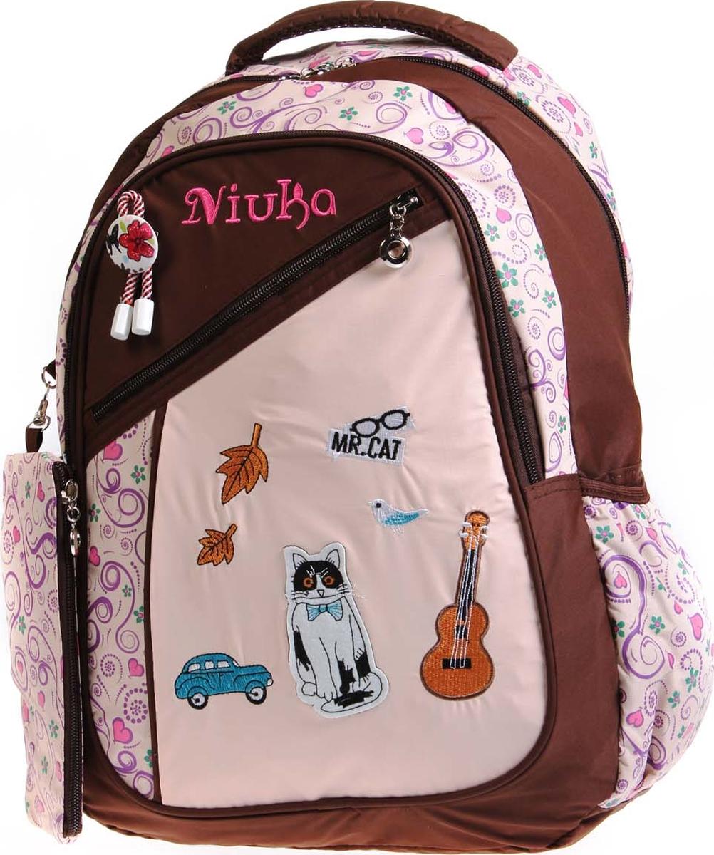 Фото - Vittorio Richi Рюкзак детский с наполнением цвет бежевый коричневый K05NK172_1 vittorio richi рюкзак детский с наполнением цвет черный бежевый k05rn171