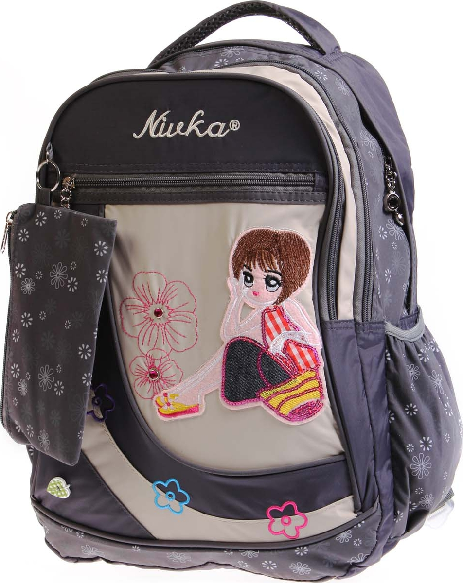 Фото - Vittorio Richi Рюкзак детский с наполнением цвет серый бежевый K05RN170_1 vittorio richi рюкзак детский с наполнением цвет черный бежевый k05rn171