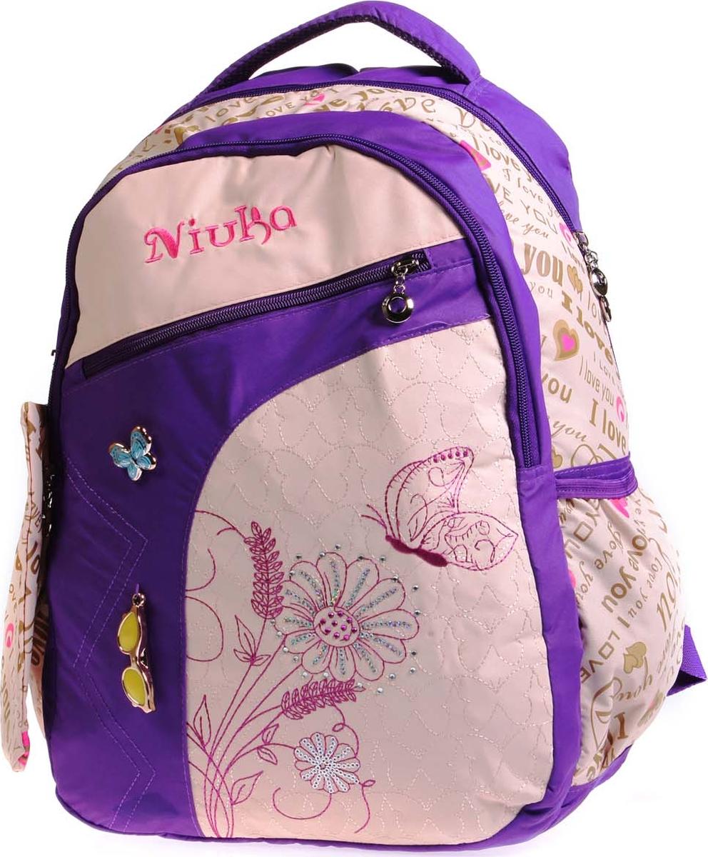 Фото - Vittorio Richi Рюкзак детский с наполнением цвет бежевый фиолетовый K05RNK172 vittorio richi рюкзак детский с наполнением цвет черный бежевый k05rn171