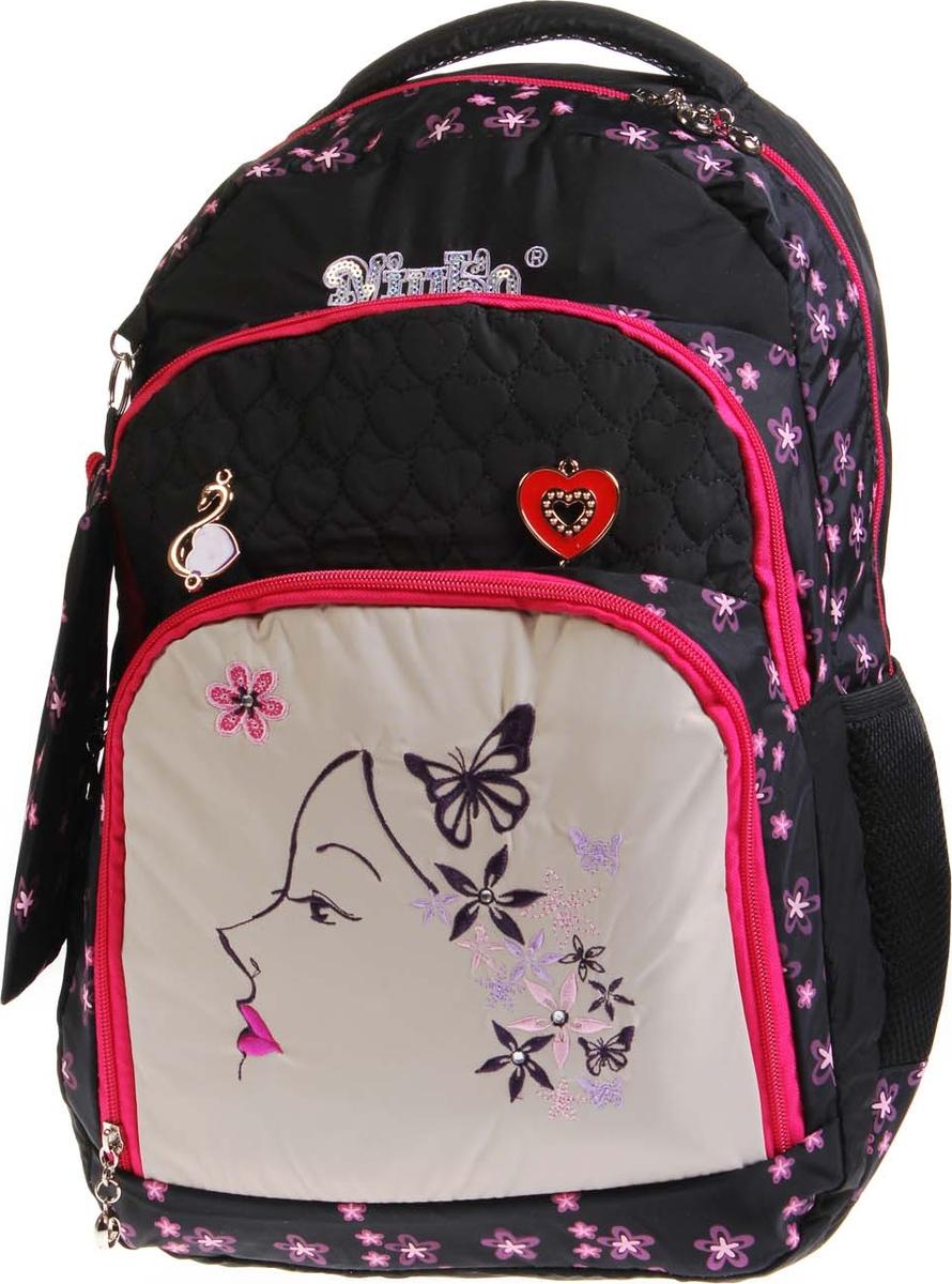 Фото - Vittorio Richi Рюкзак детский с наполнением цвет черный бежевый K05RN1725 vittorio richi рюкзак детский с наполнением цвет черный бежевый k05rn171