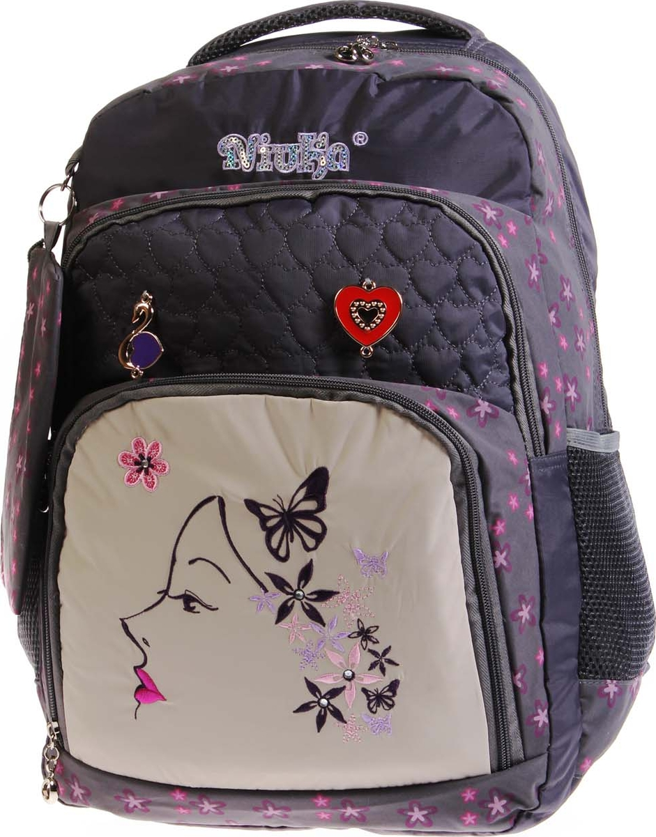 Фото - Vittorio Richi Рюкзак детский с наполнением цвет серый бежевый K05RN1727 vittorio richi рюкзак детский с наполнением цвет черный бежевый k05rn171