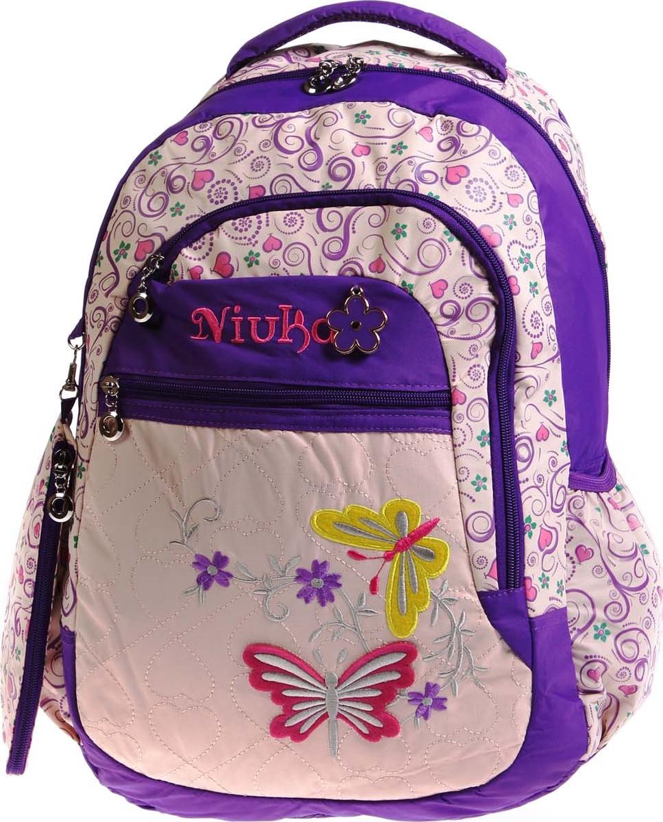 Фото - Vittorio Richi Рюкзак детский с наполнением цвет бежевый сиреневый K05RN188 vittorio richi рюкзак детский с наполнением цвет черный бежевый k05rn171