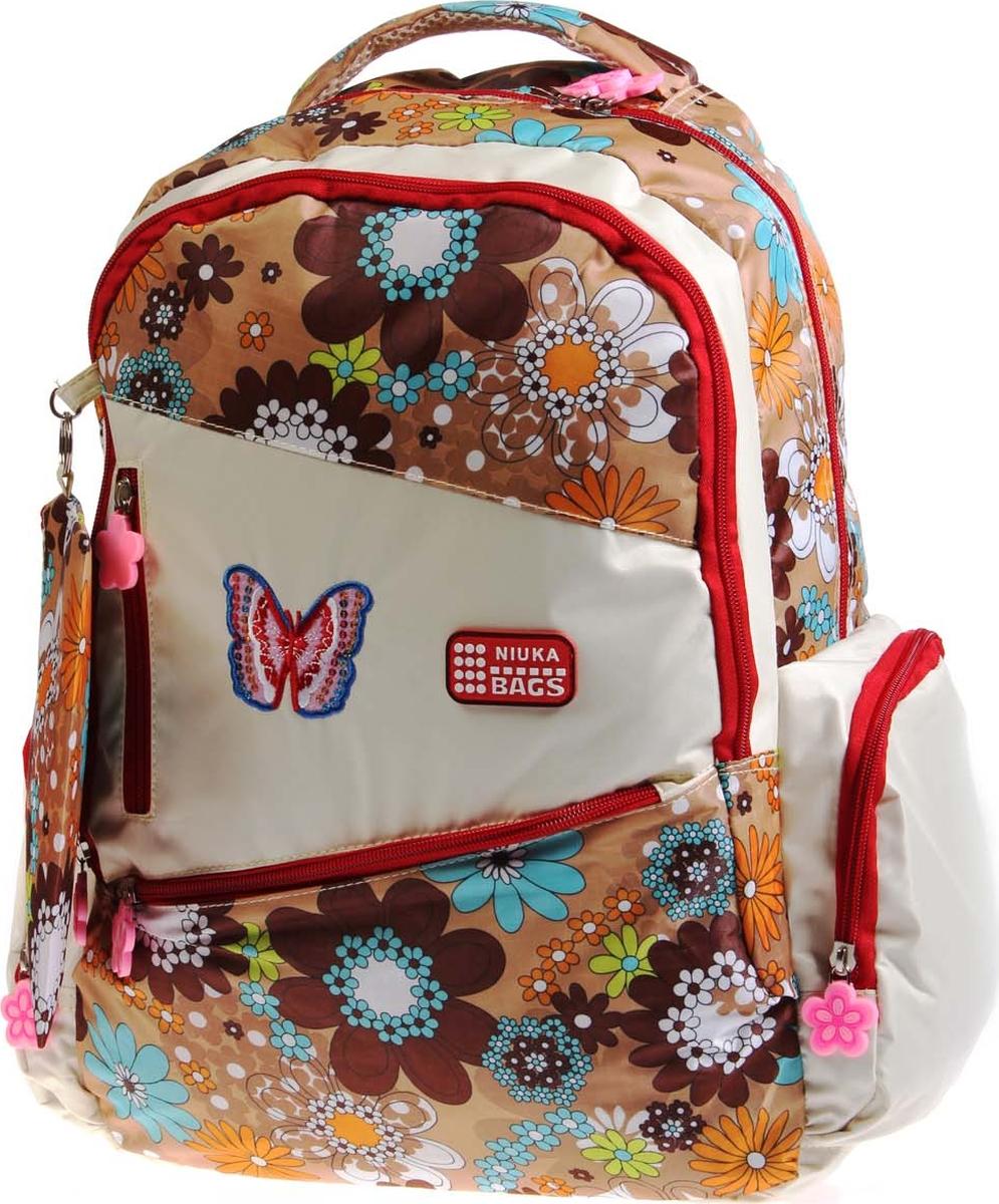 Фото - Vittorio Richi Рюкзак детский с наполнением цвет бежевый коричневый K05RN1745 vittorio richi рюкзак детский с наполнением цвет черный бежевый k05rn171
