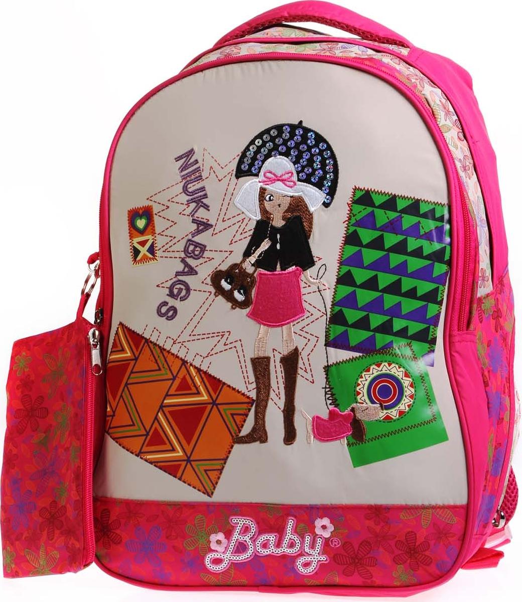 Фото - Vittorio Richi Рюкзак детский с наполнением цвет бежевый розовый K05RN171_2 vittorio richi рюкзак детский с наполнением цвет черный бежевый k05rn171