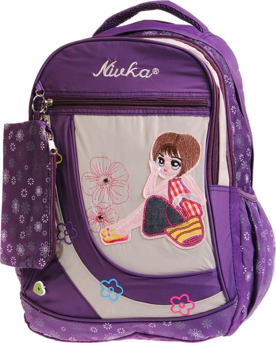 Фото - Vittorio Richi Рюкзак детский с наполнением цвет фиолетовый бежевый K05RN170_2 vittorio richi рюкзак детский с наполнением цвет черный бежевый k05rn171