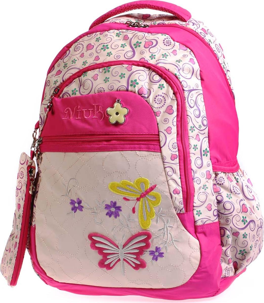 Фото - Vittorio Richi Рюкзак детский с наполнением цвет бежевый розовый K05RN188_2 vittorio richi рюкзак детский с наполнением цвет черный бежевый k05rn171