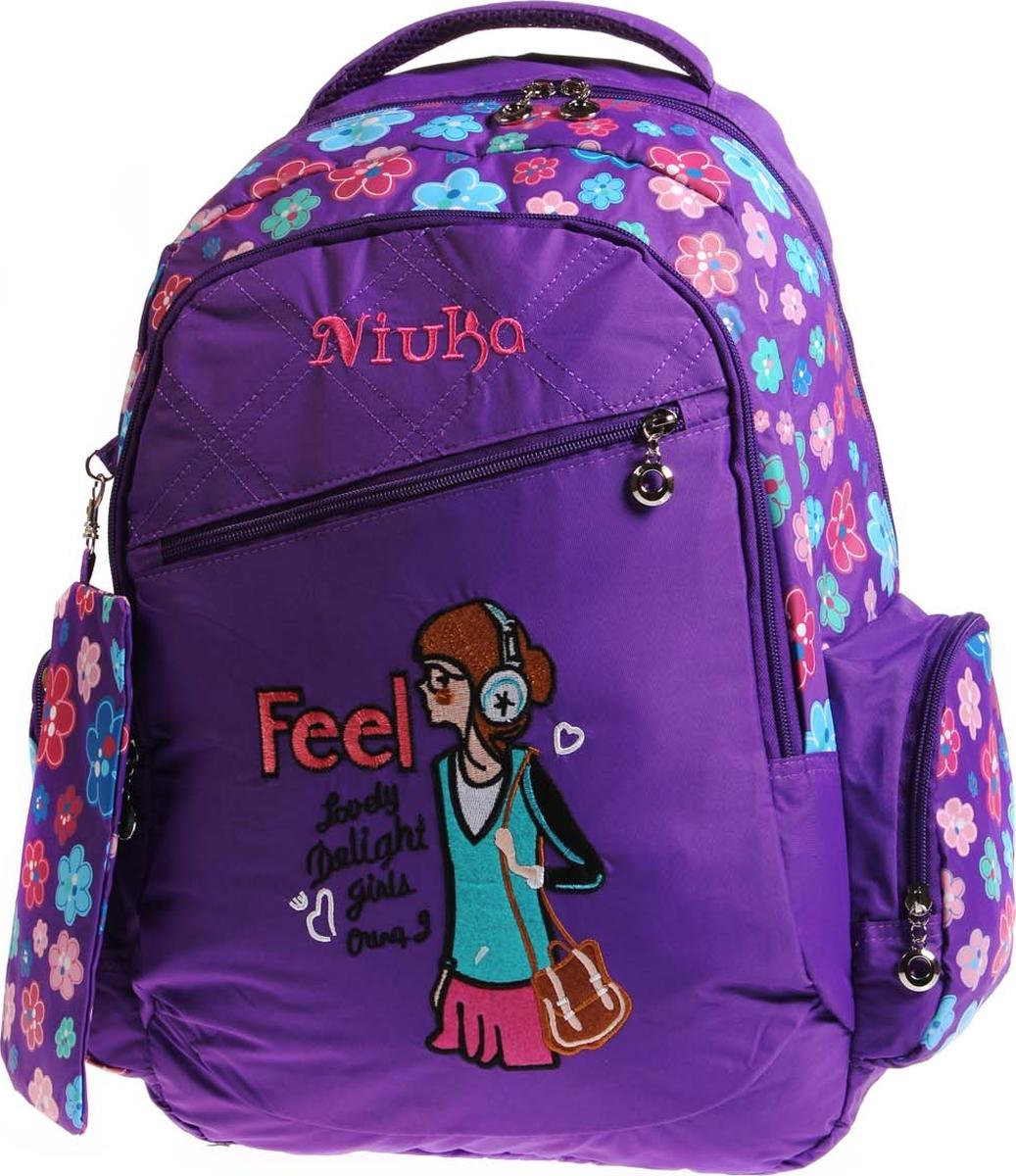 Vittorio Richi Рюкзак детский с наполнением цвет фиолетовый K05RN187_2