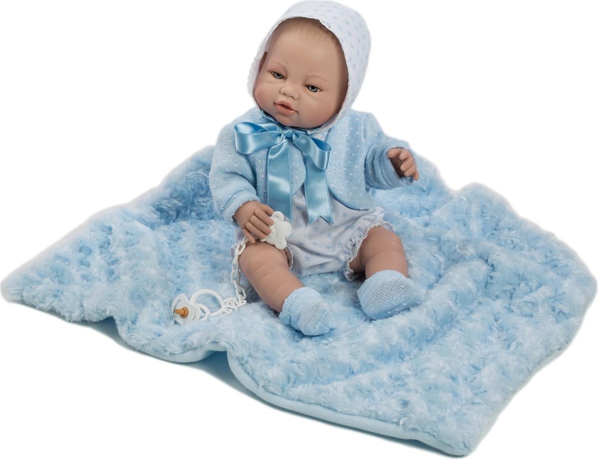 Munecas Berbesa Кукла Пупс новорожденный 42 см 5114